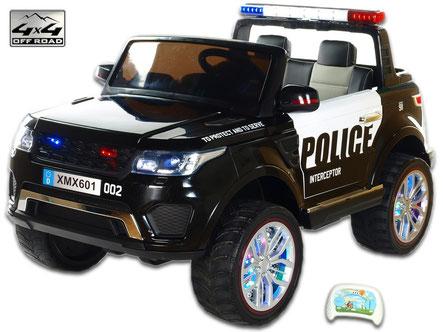 Polizei Gelände Truck 911/Kinderauto/Kinder Elektroauto/KidCars/Fernbedienung/Allrad/