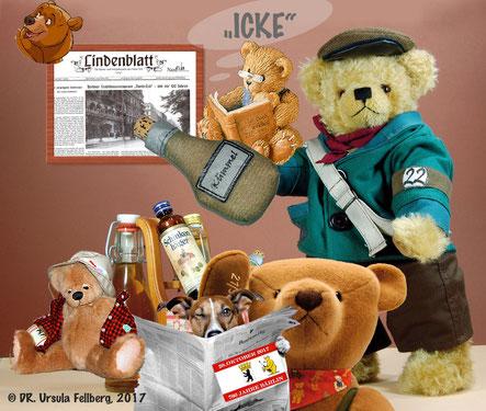 © Dr. Ursula Fellberg: Teddy Nante, Bruno, der Säufer, alle aus  der Sammlung Fellberg