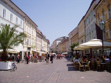 クラーゲンフルトの街並み