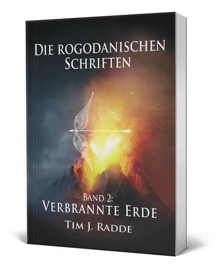 Cover Die rogodanischen Schriften Band 2: Verbrannte Erde