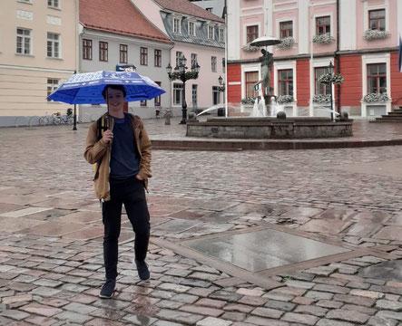 Jonas ist in Tartu angekommen