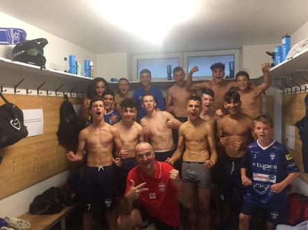 Unsere neu gegründete U16 Mannschaft gewann das erste Heimspiel mit 3:0