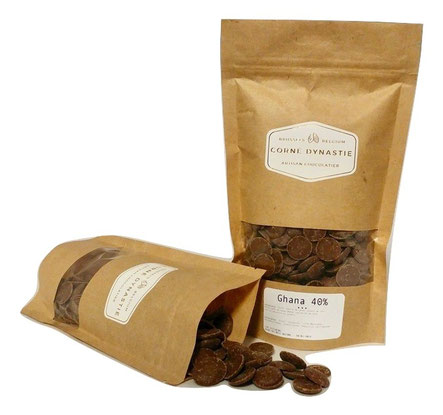 pépites - chocolat - pastilles - Corné Dynastie - chocolat Ghana