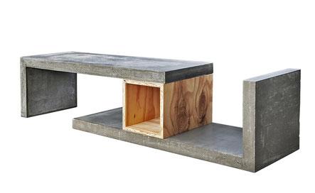 wohnen mit beton sch nes verbindet das portal f r lifestyle. Black Bedroom Furniture Sets. Home Design Ideas