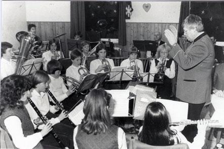 Jungmusiker am Konzert der Jugendkappe zu Weihnachten