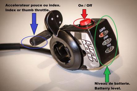 vélo électrique avec accélérateur