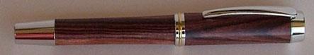 Füller Schreibgerät aus Königsholz gedrechselt