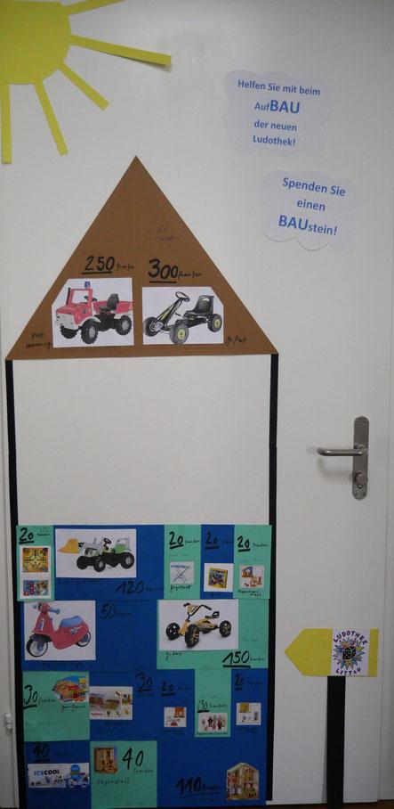 Spendenhaus Spiele und Fahrzeuge