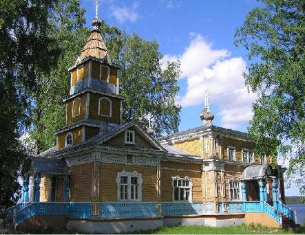 Паломнические поездки в Важеозерский монастырь из Петербурга 8-952-227-93-32. Фото Преображенского храма.