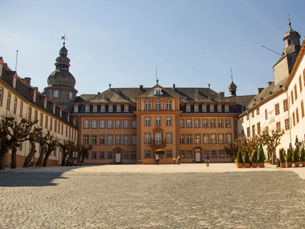 Schloss Berleburg, Wohnsitz der Königlichen Hochheit Prinzessin Benedikte von Dänemark und Richard Prinz zu Sayn-Wittgenstein-Berleburg