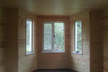 шторы для экера, шторы для гостиной