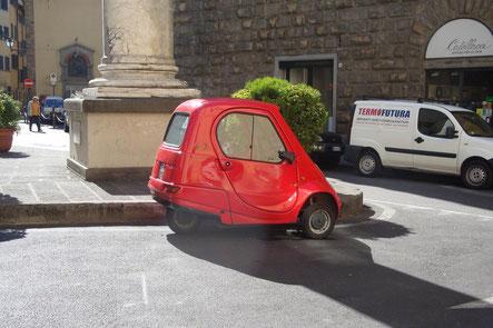Piaggio Ape Florenz Italien
