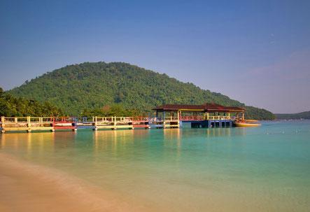 De bounty stranden van de Perhentian Islands in West-Maleisië