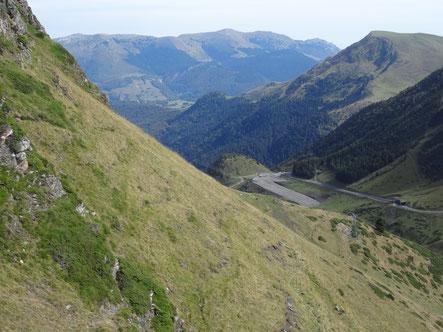 Bild: Passstraße beim Pic du Midi de Bigorre