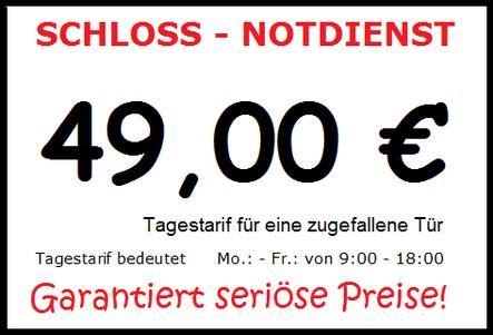 Garantiert Seriöse Preise für die Türöffnung in Hamburg