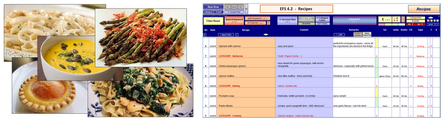 Keep overview over all your recipes. Find and access them in seconds!