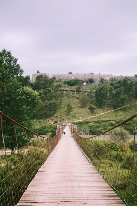 Brücke bei Tepelena, Albanien