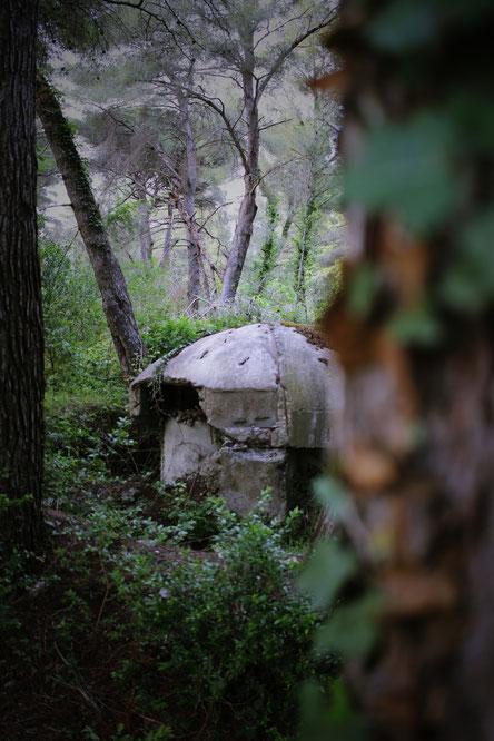 Bunker in Albanien