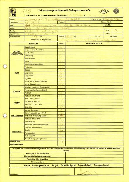Inventarisierung 11.05.2014