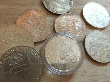 100 Schilling Silber verkaufen