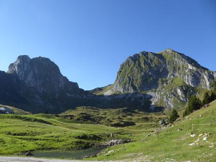 24.11.12 DS (Eigenthalerhof 1017m) -Heitertannliweg - Klimsen - Pilatus Kulm (2060m)