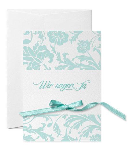 Hochzeitseinladung Letterpress bestellen