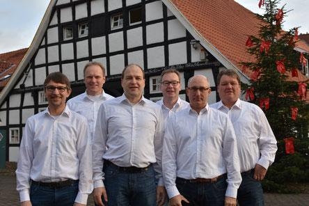 R. Baltes, M. Rekers, Kl. Sändker, A. Teders, A. Brüggemann, St. Heeke
