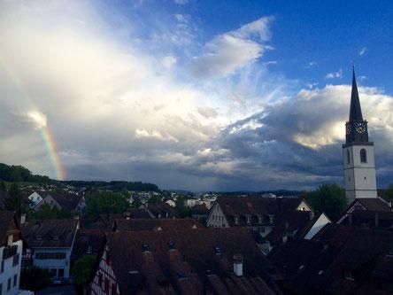 Seit Ende 2015 arbeiteich in der hübschen Altstadt von Bülach im Kanton Zürich