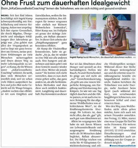 Mit Leichtigkeit zum dauerhaften Wohlfühlgewicht mit der Ernährungsberaterin Ingrid Kamp aus Bad Dürkheim