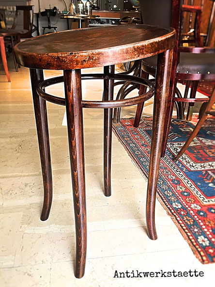 Art Nouveau Thonet Working Stool