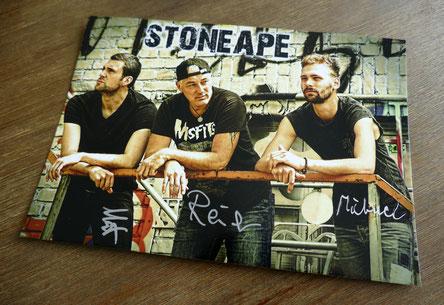 STONEAPE Autogrammkarten