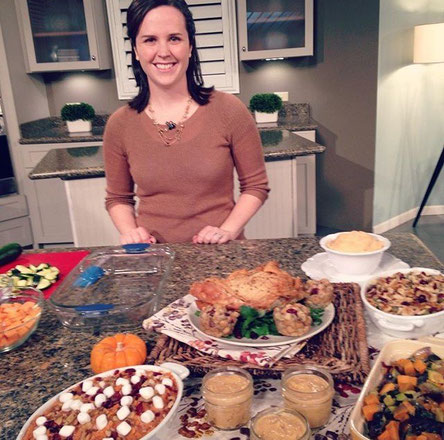 Healthy Thanksgiving Recipes and Tips shared on Great Day SA!