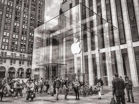 L'histoire des boutiques Apple Store