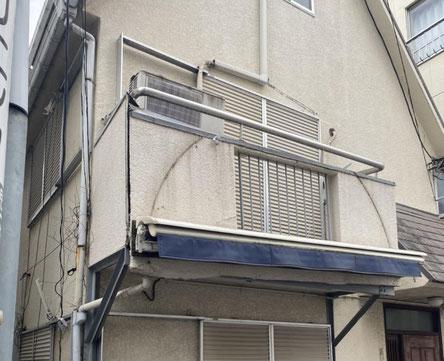 川島町のベランダ,解体費用