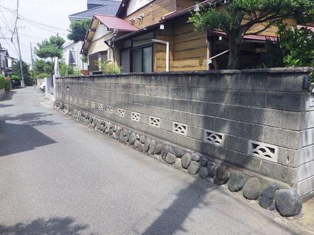 武蔵村山市ブロック塀解体費用