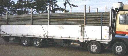 10トントラックに積むとこんな感じです