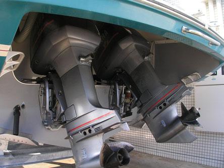 弊社の鉄系焼結部品は一部、船舶の船外機に使用されています。