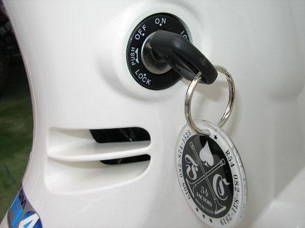 弊社の鉄系焼結部品は一部、大型自動二輪のハンドルロックに使用されています。