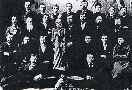 アメリカンスクールオブオステオパシー第1期生写真