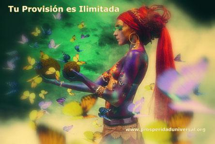 SUSTANCIA CREADORA - TU PROVISIÓN ES ILIMITADA - PROSPERIDAD UNIVERSAL - www.prosperidaduniversal.org