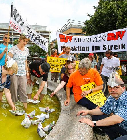 Die Mannheimer Kollegen wollen sich weder abhängen noch ausbooten lassen. Foto: Markus Proßwitz (Masterpress)