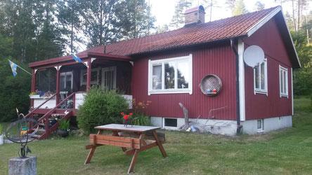 Ferienhaus Sund am Stora Le in Dalsland