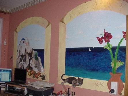 Wandbild in meinem Arbeitszimmer