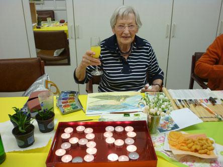 Herzlichen Glückwunsch liebe Frau Hofmann- Jost!