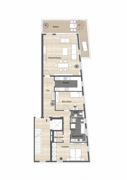 Wohnung im Hafenbecken Speyer