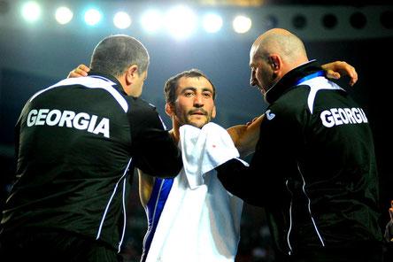 Грузинские борцы завоевали пять медалей в Стамбуле