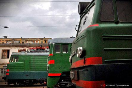В Грузии началась полномасштабная забастовка железнодорожников