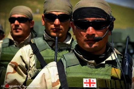Грузинские миротворцы блистяще провели гуманитарную операцию в Афганистане