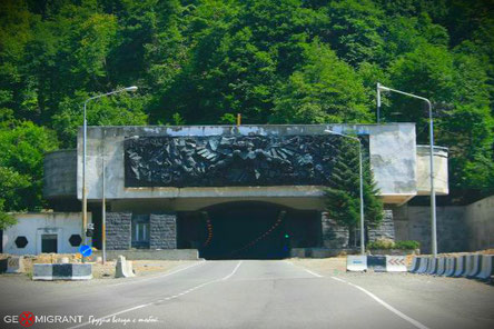 В Рикотском тоннеле Грузии прогремел взрыв