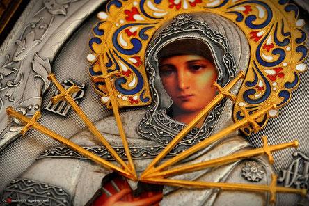 Всемирно известную чудотворную святыню Православия,семистрельную икону Божьей матери, скоро привезут на Грузинскую землю